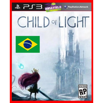 Child Of Light Ps3 Código Psn Aventura Dublado