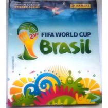 Álbum Figurinhas Copa Do Mundo Brasil 2014 Incompleto