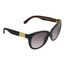 Óculos Feminino Evoke Mystique Black Wood Matte Gold