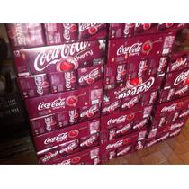 Caja Coca Cola Cherry Cereza 12 Pz