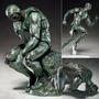 Estatua O Pensador Boneco Articulado Com Frete Grátis
