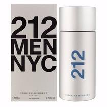 Perfume 212 Men Nyc Carolina Herrera 200ml Lacrado