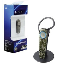 Novo Lacrado Ps3 Headset Wireless Bluetooth Sony Camuflado
