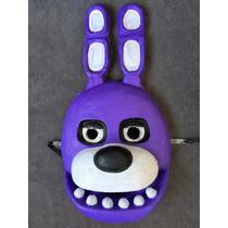 Mascaras Five Nights At Freddys Goma Latex 3d Bonnie