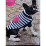 Abrigo Para Tu Mascota!!!tejido A Mano (hasta 65 Cm De Lomo)