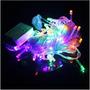 Luces Navideñas Led 100 Multicolor Por Mayor Reventas! $1050