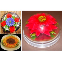 Aprende A Hacer Gelatinas Florales Gelatinas Artisticas