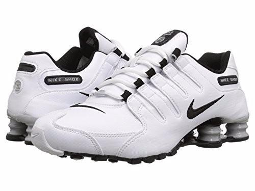 c20b90e86 Tênis Nike Shox Nz Eu Couro Branco 100% Original Tamanho 35 - R  689 ...