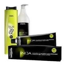 Coloração Inoa Nº 7 + Oxidante 60ml + Shampoo 60ml