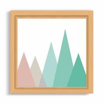 Cuadrito Box Natural 20x20 - Mountain In Colors
