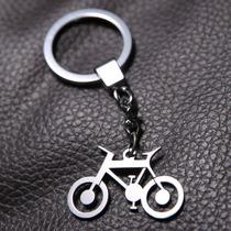 Llavero Bicicleta En Acero Inoxidable