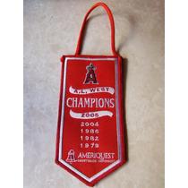 Banderin Anaheim Angels Ameriquest Mlb Baseball California