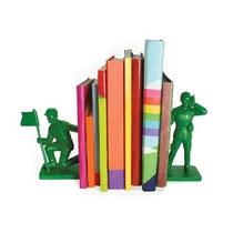 Sujeta Libros Bookends Soldados Guerra Soldadito Útil Regalo
