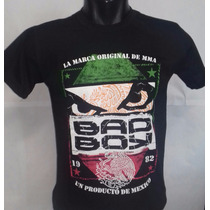 Camisa Camiseta Bad Boy Mma Ufc Jiu Jitsu Muai Thay Mexico