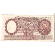 Bottero # 2041 - 100 Cien Pesos M/n -año-1952