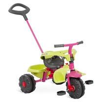Triciclo Infantil Smart Plus Bandeirante 3 Em 1 Menina