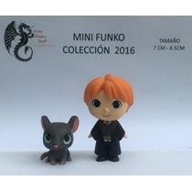 Ron Wesley & Rat Mini Funko Harry Potter 8 Cms