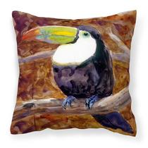 Bird - Tucán Lienzo Decorativo Almohadilla De La Tela