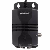 Amplificador Sinal Aquário Al-1020 Hdtv 2 Saídas Booster