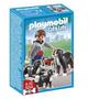 Playmobil 5214 Perros De Montaña Con Cachorro