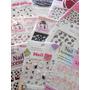 Lote 10 Sticker Decoracion Uñas 3d Colores Ydnis Maquillaje