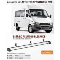 Estribo Alumínio Sprinter Van 2012 Em Diante Bepo