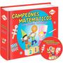 Libro Campeones Matematicos Preescolar + Cd