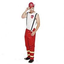 Disfraz Bombero Adulto C/sombrero T2 X 1