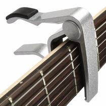 Capotraste Braçadeira Guitarra Violão Capo Baixo Alumínio