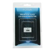 Protetor Lcd E Display Nikon D90 Em Vidro Ótico Fino Fotga