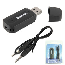 Receptor De Musica Bluetooth Usb Adaptador 3.5mm De Audio