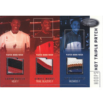 2002-03 3x Rookie 10color Patch Butler Woods Jeffries /75