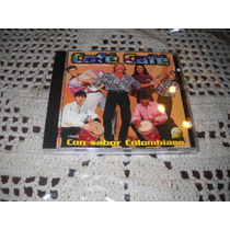 Cafe Cafe - Con Sabor Colombiano Cd Original Usado