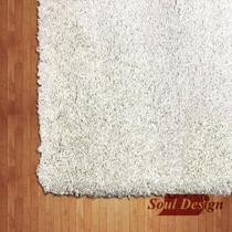 Carpeta Alfombra Shaggy Element 160 X 230cm Living Fundasoul