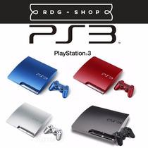 Playstation 3 Ps3 Ediçao Limitada 160gb - Frete Grátis E 12x