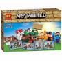 Minecraft Set De Crafteo // 8 Modelos Diferentes En Una Caja