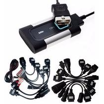 Scanner Automotivo Delphi Autocom + 19 Cabos 2016 Bluetooth