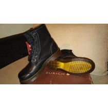 Zapatos Borcegos De Mujer 100% Cuero Marca Zurich