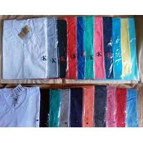 Kit 10 Camisa Camiseta Gola V Varias Marcas Revenda Atacado