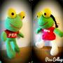 Peluche Sapo Pepe Y Pepa 50cm, I.n.c.r.e.i.b.l.e. (x Menor)