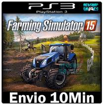 Farming Simulator 2015 [ Midia Digital Cod Psn Play3 Ps3 ]