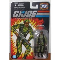 Sgt. Stalker Silver Foil Gi Joe 25 Years 25th Hasbro