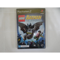 Lego Batman - Ps2 - Lacrado!
