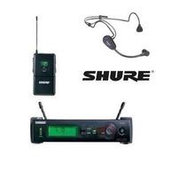 Microfone Shure Facial Sem Fio Pga31 C/ Slx14