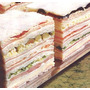 Sandwiches De Miga Triples X 50 Unidades.envios !!!