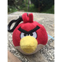 Peluche Llavero Angry Birds Red Original Impecable