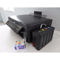 Impresora Epson Xp-201 Sistema De Tinta Lleno Color Make