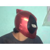 Marvel Mascara Tipo Luchador Deadpool Para Adulto