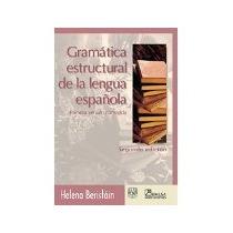 Libro Gramatica Estructural De La Lengua Española 2e *cj