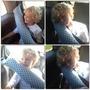 Protetor De Cinto De Segurança Infantil Para Carro, Almofada